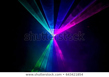 Laser show disco partij abstract licht Stockfoto © yuyu