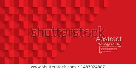 赤の広場 · 抽象的な · 紙 · 技術 · 芸術 · オレンジ - ストックフォト © italianphoto