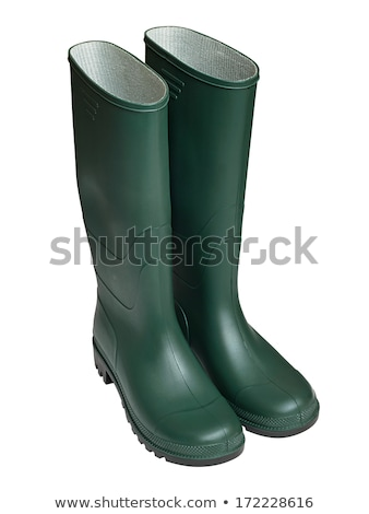 Gum Boot isolated against a white background Stock photo © ozaiachin