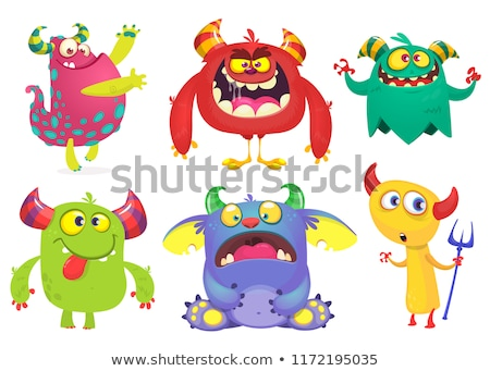vector aliens and monsters set stock photo © balabolka