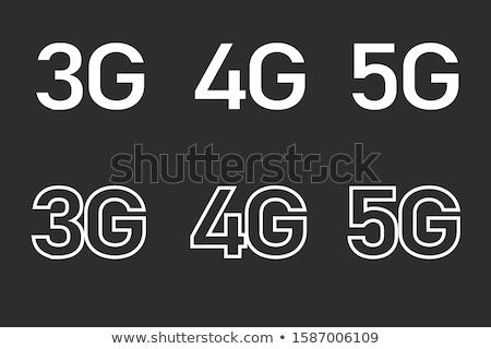 3g Sign Green Vector Icon Design Stock photo © rizwanali3d