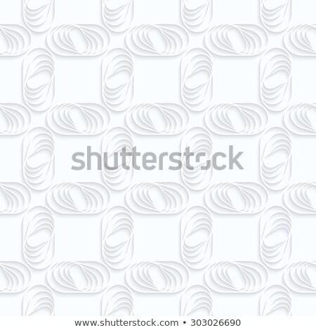 紙 · シームレス · 3D · 白 · 現実的な - ストックフォト © zebra-finch