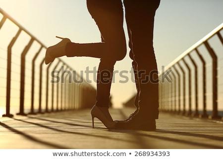 Stock fotó: Fickó · zuhan · híd · férfi · ugrás · fiatal