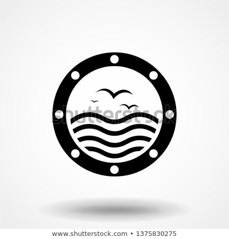 nautical porthole Stock photo © Mikko