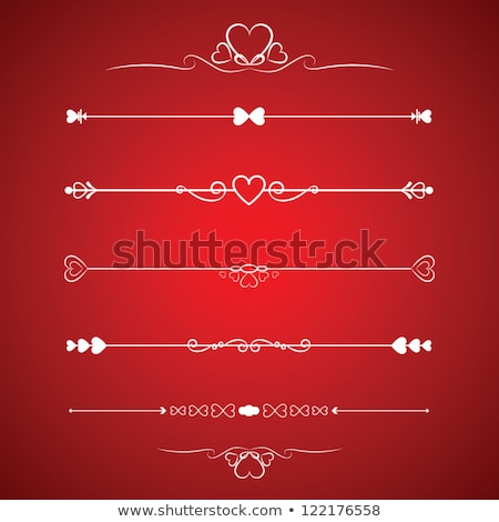 Vázlatos valentin napi üdvözlet illusztráció izolált virág férfi Stock fotó © get4net