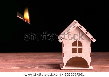 House Fire Concept Stock photo © Lightsource