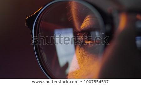 Közelkép táblagép internet böngésző keresés üzlet Stock fotó © dolgachov