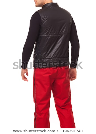 Red body warmer Stock photo © bluering