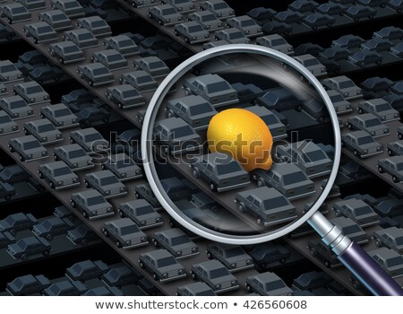Driving A Lemon Car Concept Stock photo © Lightsource