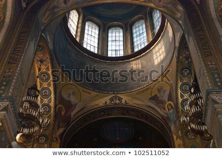 Bazylika kopuła święty katedry Ukraina matka Zdjęcia stock © billperry