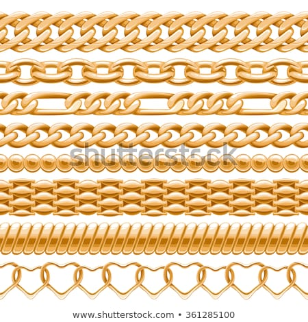 Seamless thick chains Stock photo © pakete