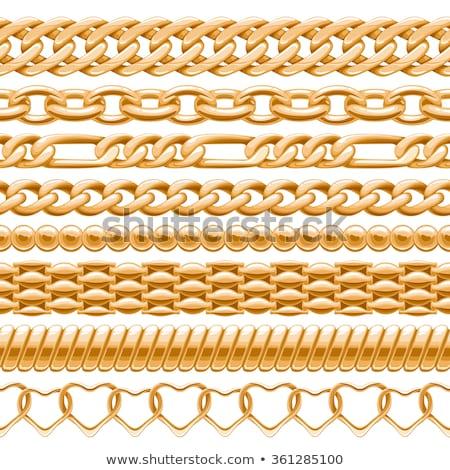 seamless thick chains stock photo © pakete
