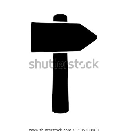 Mining pick and hammer vector illustration. Stock photo © RAStudio