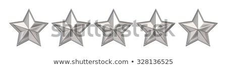 Or star 3D rendu 3d illustration Photo stock © djmilic