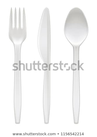 set of plastic forks stock photo © ruslanomega