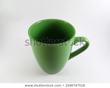 empty green mug stock photo © digifoodstock
