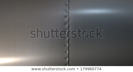 Welded Metal Sheets Fused Stock photo © albund