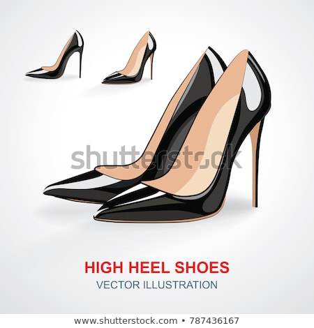Red Stiletto High Heels Or Pumps Stock photo © dtiberio
