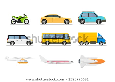 Different types of transportations Stock photo © bluering