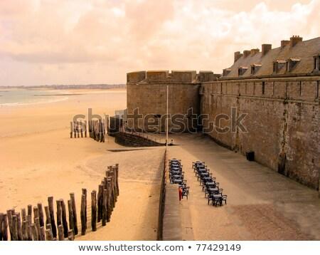 castillo · de · arena · 3d · nino · playa · nino - foto stock © xantana