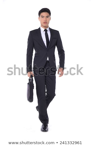 Asia · empresario · caminando · frente - foto stock © szefei