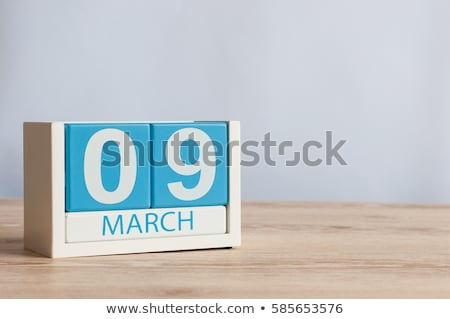 9 March  DJ Day Stock photo © Olena
