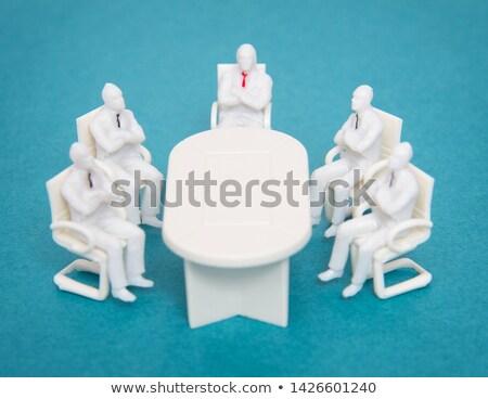 Stockfoto: Business · team · werken · kantoor · typisch · business