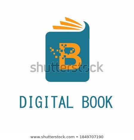 Teia página modelo de design on-line educação Foto stock © ikopylov