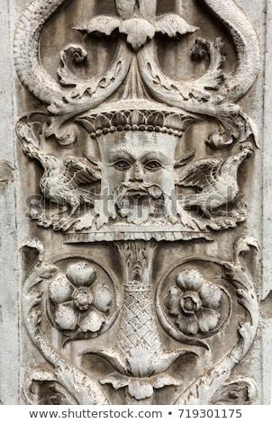 Verona architectuur details gebouw hoek Stockfoto © simply