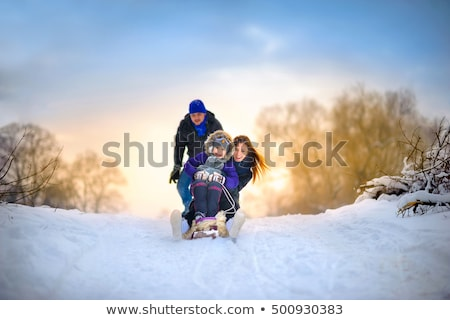 jong · meisje · touw · buitenshuis · glimlachend · meisje · kinderen - stockfoto © dolgachov