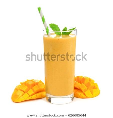 mangó · illustrator · gyümölcs - stock fotó © netkov1