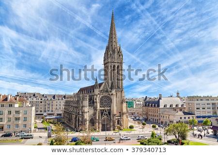 Church of Saint-Pierre, Caen, France Stock photo © borisb17