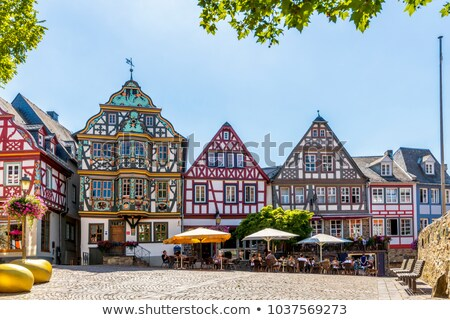 Duitsland een belangrijk huizen kunst geschiedenis Stockfoto © borisb17