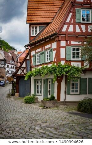 street in Esslingen am Neckar, Germany Stock photo © borisb17