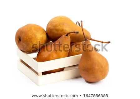 Pears on wood Stock photo © AGfoto