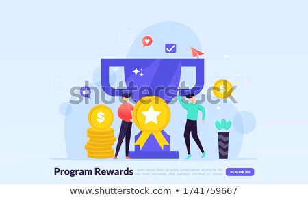 How to Succeed in Business People with Prize Web Stock photo © robuart