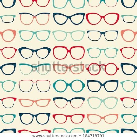 Colorato occhiali frame forme muro molti Foto d'archivio © make