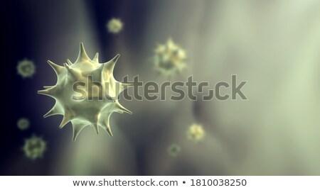細菌 ウイルス バナー 文字 スペース 医療 ストックフォト © SArts