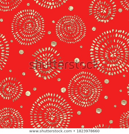 wallpaper seamless texture red spiral Stock photo © tottoro