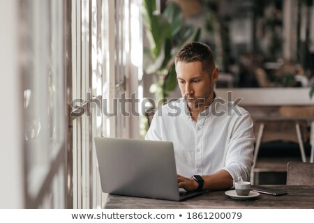 Portrait of mid-adult man Stock photo © nyul