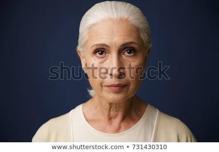 komoly · idősebb · nő · szoba · szemüveg · vállalati - stock fotó © photography33