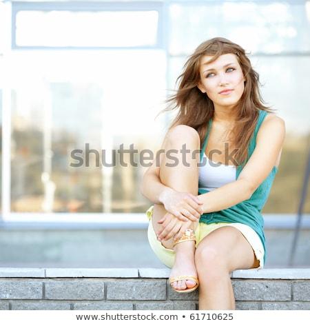 teenage girl thinking about something stock photo © stuartmiles