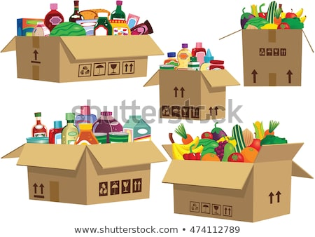 Stack of Canned Goods Stock photo © zhekos