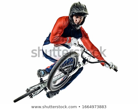 athlete bmx racer stock photo © sahua