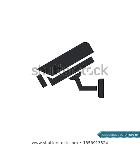 video surveillance camera vector illustration stock photo © konturvid