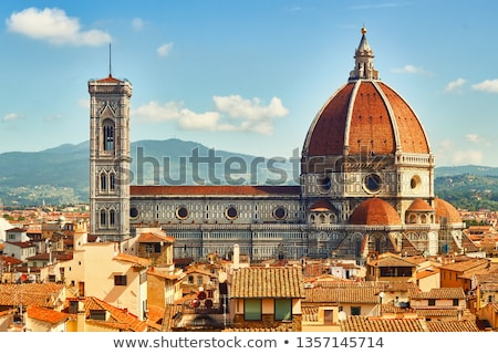 florence cathedral dome stock photo © ajlber