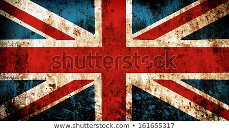 Zdjęcia stock: England Retro Flag