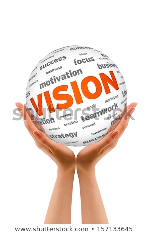 Hands holding a Vision Sphere Stock photo © kbuntu