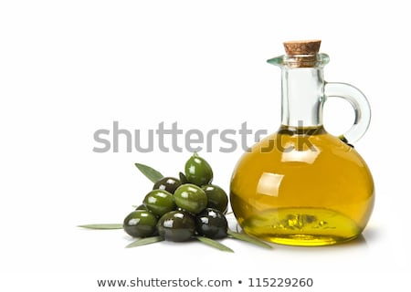 Olive oil and condiments Stock photo © inaquim