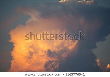 Cumulonimbus Incus Cloud Rising Stock photo © Kuzeytac